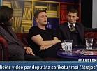 RīgaTV 24: Par deputāta traci ātrajos, alkoholismu, vardarbību skolās un izplūdes gāžu kaitīgumu