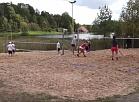Skrundas TV: Snēpelē iepazīst pludmales tenisu