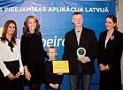 Invalīdu apvienība pasniedz balvu Rīgas Zoo un LU Dabaszinātņu centram