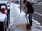 Jelgavas Pašvaldības policija aicina iedzīvotājus ievērot sniega tīrīšanas un ietvju kaisīšanas noteikumus