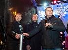 Rīgas mērs iededz Rīgas centrālo Ziemassvētku egli