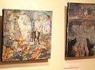 """Valmieras muzejā atklāj Veltas Emīlijas Platupes gleznu un objektu izstādi """"Celibāts"""""""