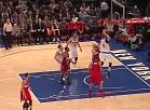 """Video: Porziņģim 20 punkti un trīs bloķēti metieni pret """"Wizards"""""""