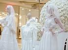 Kāzu tērpu izstādē apskatāma 1916.gada laulību kleita