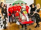 Malnavas koledžai uzdāvināts kartings – jāgatavojas sacensībām