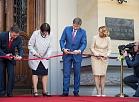 Svinīgi atklāj Latvijas Nacionālā mākslas muzeja galveno ēku