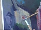 """Vidusdaugavas TV: Jēkabpili un tuvāko apkārtni iemūžina gleznotāji plenērā """"Sēlijas palete 2016"""""""