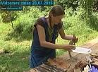 Vidzemes TV: Amatnieki praktizējas zivju ādu apstrādē