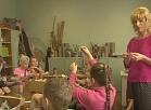 Vidusdaugavas TV: Jēkabpils Bērnu un jauniešu centrā norisinās radošās darbnīcas