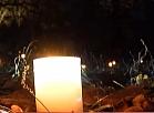Skaņākalnā iemirdzas sveču mežs