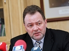 Latgales plānošanas reģiona attīstības padomes vadītājs, Krāslavas novada domes priekšsēdētājs Gunārs Upenieks piedalās mediju brīfingā, kurā informē par rīcības plānu Latgales reģiona izaugsmei, paredzēto mērķu izpildi un plānotajiem pasākumiem 2013.gadā.