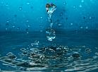 Ūdens pilieni.