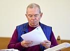 Ventspils mērs Aivars Lembergs pirms tiesas sēdes Rīgas apgabaltiesā