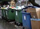 Atkritumu konteineri Ieriķu ielā.