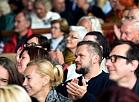 """Cilvēki 12.starptautiskā mūzikas festivāla """"Summertime - aicina Inese Galante"""" koncertā """"Āfrikas ritmi"""" Dzintaru koncertzālē."""