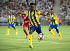 Adeleke Akinyemi of Ventspils in action during the UEFA Europa League second qualifying round match between Girondins Bordeaux and Ventspils at Stade Matmut of Bordeaux in Bordeaux, France, 02 August  2018.  EPA