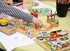Notiek pasākums, kurā prezentē pētījumu par Latvijas pirmsskolas vecuma bērnu našķēšanās paradumiem.