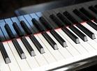 Klavieru taustiņi.