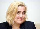 Ventspils Augstskolas rektore Gita Rēvalde preses konferencē informē par pēdējām aktualitātēm augstskolas pārvaldībā.