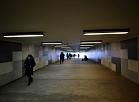 Gājēju tunelis pie Centrālās dzelzceļa stacijas.