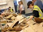 """Atkritumu apsaimniekotāja SIA """"Vides pakalpojumu grupa"""" dalīti vākto atkritumu šķirošanas centra atklāšanas pasākums."""