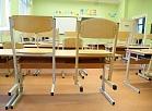 Tukšā mācību klase Rīgas Valda Zālīša sākumskolā Latvijas Izglītības un zinātnes darbinieku arodbiedrības organizētā vienas dienas brīdinājuma streika laikā.