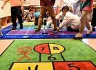 Latvijas Starptautiskās skolas telpas, kurās mācības sāks bērni no 38 dažādām valstīm.