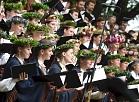 XXVI Vispārējio latviešu Dziesmu un XVI Deju svētku virsdiriģentu un virsvadītāju godināšanas pasākums Dziesmu svētku parkā.