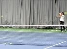 """Latvijas tenisiste Anastasija Sevastova piedalās MINI Latvija un Tennis Pro Academy organizētajā pirmajā meistarklasē mazajiem tenisa spēlētājiem """"SMScredit.lv tenisa centrā""""."""