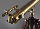 In this undated photo provided by Christie's Images LTD. 2017, physicist Albert Einstein's telescope is shown. The item will go up on the block in New York City on Dec. 5, 2017 as part of Christie's American History sale. (Christie's Images LTD. 2017 via AP)