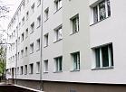 """SIA """"Rīgas namu pārvaldnieks"""" pirmā nosiltinātā daudzdzīvokļu dzīvojamā ēka Bauskas ielā."""