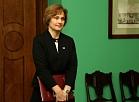 Satversmes tiesas priekšsēdētāja Ineta Ziemele.