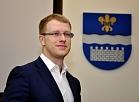 Jaunievēlētais Daugavpils domes priekšsēdētājs Andrejs Elksniņš.