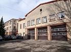 Jelgavas Valsts ugunsdzēsības un glābšanas dienesta depo ēka.