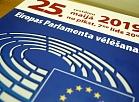 Plakāts par Eiropas Parlamenta vēlēšanām.
