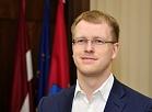 Daugavpils domes priekšsēdētājs Andrejs Elksniņš.