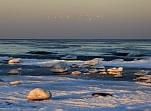 Akmeņainais Mērsraga zemes rags un smilšainā Mērsraga pludmale