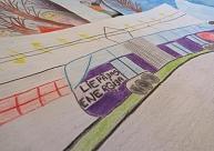 ''Liepājas enerģija'' saņem bērnu zīmējumus