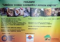 Daugavpils novadā notiek bezmaksas kaķu sterilizācija