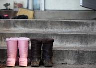 Kā attīrīt apavus no sāls nosēdumiem