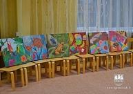 PII ''Saulīte'' saņem skaistu dāvanu no Ogres Mākslas skolas