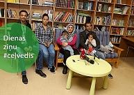 Bēgļi vēlas strādāt, pasaules līmeņa svarcēlāji Ventspilī, taranē ēku Jelgavā