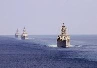 Šonedēļ Latvijas tuvumā manīti vairāki Krievijas bruņoto spēku kuģi