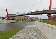 Sāks Mītavas gājēju tilta 4820 eiro vērto apkopi Jelgavā