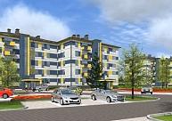 Valmierā top jaunais daudzdzīvokļu īres nams