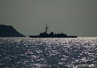 Latvijas robežas tuvumā vakar konstatēti divi Krievijas karakuģi