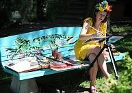 """Valmieras """"Mākslas dārza"""" burvībā"""