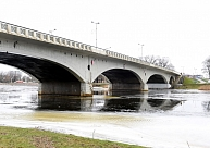 Nokrišņu ietekmē gaidāma ūdens līmeņa paaugstināšanās upēs