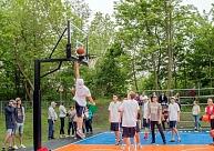 Liepājā atklās otro Porziņģa dāvināto āra basketbola laukumu
