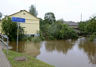 Jau daudzviet Latvijā upes izgājušas no krastiem